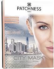 Düfte, Parfümerie und Kosmetik Reinigende Sauerstoff-Tuchmaske für das Gesicht - Patchness City Mask