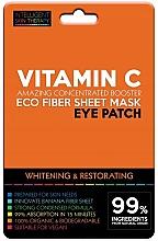 Düfte, Parfümerie und Kosmetik Aufhellende Augenpatches mit Vitamin C - Beauty Face IST Whitening & Restorating Eye Patch Active Vitamin C