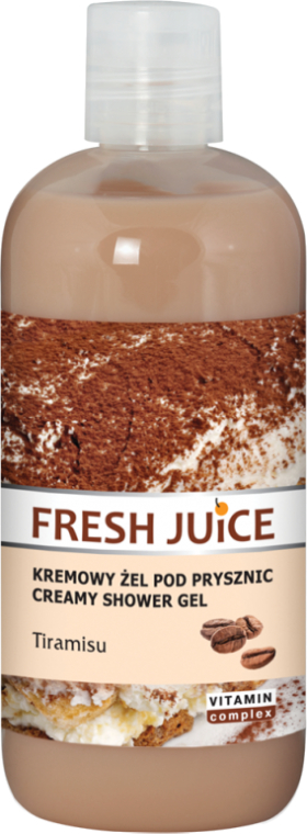 Creme-Duschgel mit Tiramisu - Fresh Juice Tiramisu Creamy Shower Gel