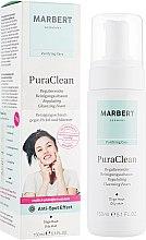 Düfte, Parfümerie und Kosmetik Regulierender Gesichtsreinigungsschaum gegen Pickel und Mitesser für fettige und Mischhaut - Marbert Pura Clean Regulating Cleansing Foam