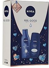 Düfte, Parfümerie und Kosmetik Körperpflegeset - Nivea Feel Good (Duschgel 250ml + Körpermilch 250ml)