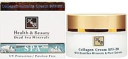 Düfte, Parfümerie und Kosmetik Straffende Gesichtscreme mit Kollagen - Health And Beauty Collagen Firming Cream SPF 20