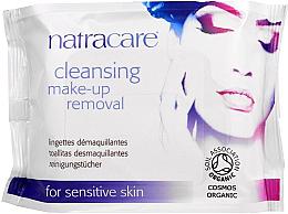 Düfte, Parfümerie und Kosmetik Reinigungstücher zum Abschminken für empfindliche Haut - Natracare Cleansing Make-Up Removal Wipes