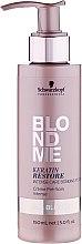 Düfte, Parfümerie und Kosmetik Intensivpflege für blondes Haar mit Keratin - Schwarzkopf Professional BlondMe Keratin Restore Intense Care Bonding Potion