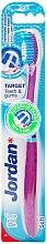Düfte, Parfümerie und Kosmetik Zahnbürste weich Target rosa - Jordan Target Teeth & Gums Soft
