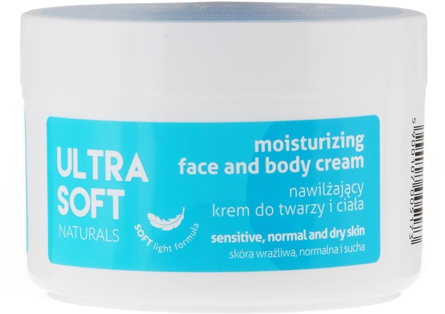 Feuchtigkeitsspendende Gesichts- und Körpercreme - Tolpa Ultra Soft Naturals Moisturising Face and Body Cream