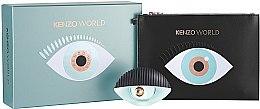 Düfte, Parfümerie und Kosmetik Kenzo World Kenzo - Kosmetikset (Eau de Parfum/100ml + Kosmetiktasche)