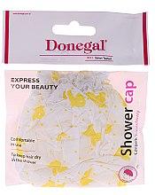 Düfte, Parfümerie und Kosmetik Duschhaube 9298 in gelben Mustern - Donegal