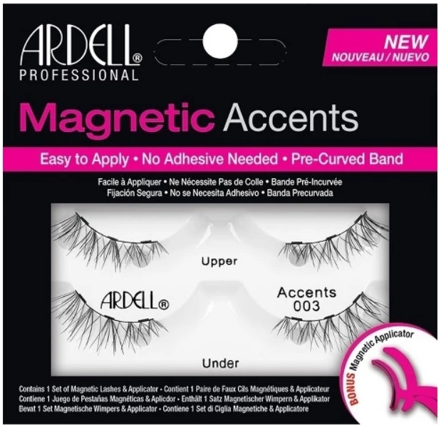 Magnetische Wimpern mit Applikator - Ardell Magnetic Lashes Accent 003