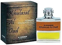 Düfte, Parfümerie und Kosmetik Al Haramain Khulasat Al Oud - Eau de Parfum