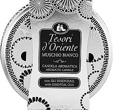 Düfte, Parfümerie und Kosmetik Tesori d`Oriente White Musk - Duftkerze