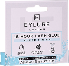 Düfte, Parfümerie und Kosmetik Wimpernkleber - Eylure 18 Hour Lash Glue Clear Finish