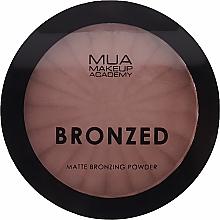 Düfte, Parfümerie und Kosmetik Matter Bronze-Puder für das Gesicht - MUA Bronzed Matte Bronzing Powder