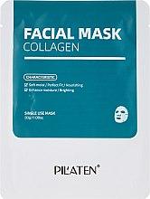 Düfte, Parfümerie und Kosmetik Milde feuchtigkeitsspendende und nährende Gesichtsmaske mit Kollagen - Pilaten Collagen Facial Mask