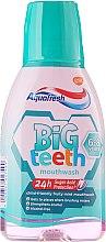 Düfte, Parfümerie und Kosmetik Mundwasser für Kinder 6-8 Jahre - Aquafresh Big Teeth Mouthwash