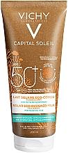 Düfte, Parfümerie und Kosmetik Feuchtigkeitsspendende Sonnenschutzmilch für Gesicht und Körper SPF 50+ - Vichy Capital Soleil Solar Eco-Designed Milk SPF 50+
