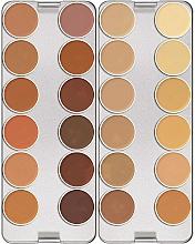 Düfte, Parfümerie und Kosmetik Make-up Palette 24 Farben - Kryolan Dermacolor Camouflage Creme Palette