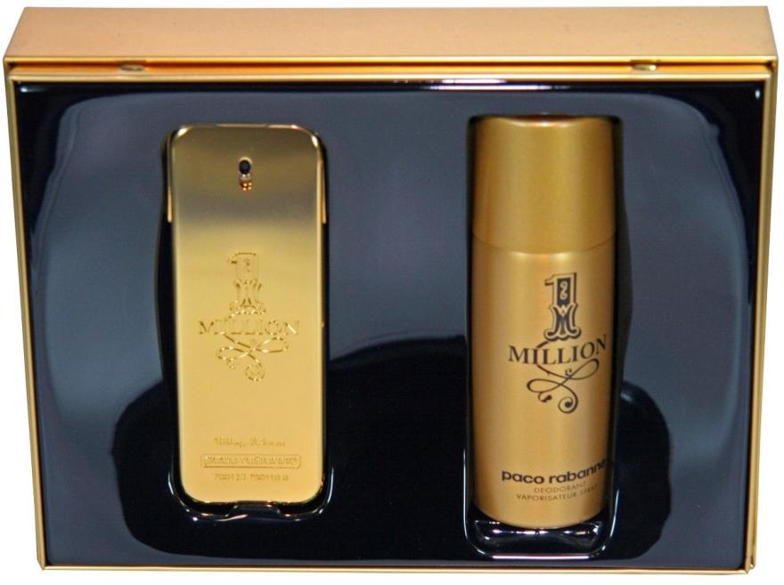 Paco Rabanne 1 Million - Duftset (Eau de Toilette 100ml + Deodorant 150ml) — Bild N1