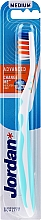 Düfte, Parfümerie und Kosmetik Zahnbürste mittel Advanced hellblau - Jordan Advanced Medium