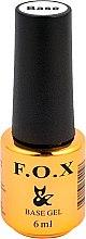 Düfte, Parfümerie und Kosmetik Gelnägel Unterlack - F.O.X Grid Base Gel