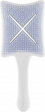 Düfte, Parfümerie und Kosmetik Detangler-Haarbürste Pops Platinum White - Ikoo Paddle X Pops Platinum White