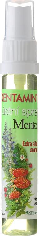 Erfrischendes Mundspray mit Menthol - Bione Cosmetics Dentamint Mouth Spray Menthol