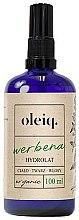 Düfte, Parfümerie und Kosmetik Eisenkraut-Hydrolat für Gesicht, Körper und Haar - Oleiq Verbena Hydrolat