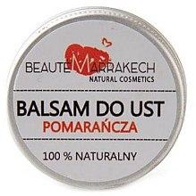 Düfte, Parfümerie und Kosmetik Natürlicher Lippenbalsam mit Orangenduft - Beaute Marrakech Lip Balm