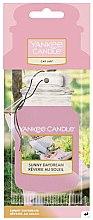 Düfte, Parfümerie und Kosmetik Papier-Lufterfrischer Sunny Daydream - Yankee Candle Car Jar Sunny Daydream Air Freshener