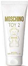 Düfte, Parfümerie und Kosmetik Moschino Toy 2 - Parfümiertes Dusch- und Badegel