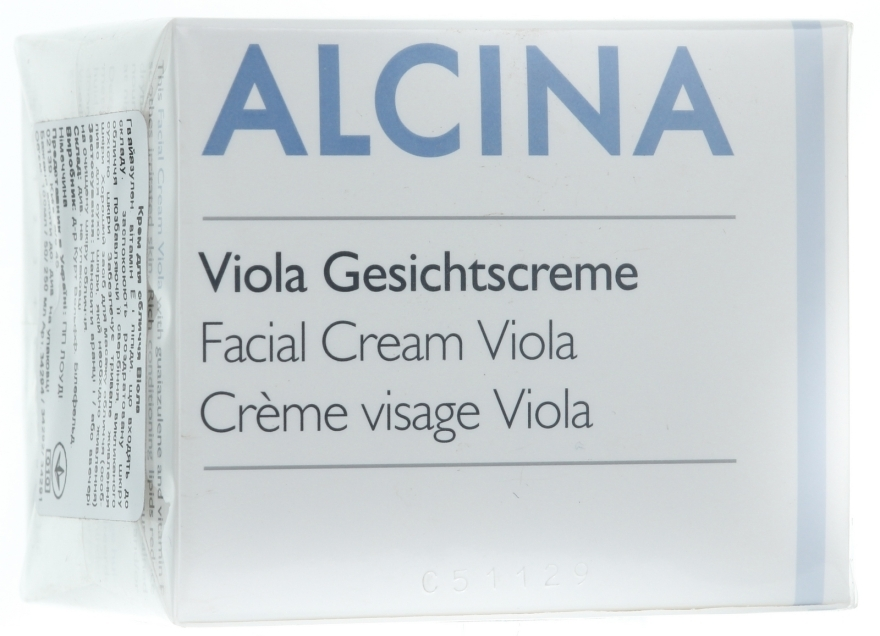 Gesichtscreme mit Veilchen - Alcina T Facial Cream Viola — Bild N1