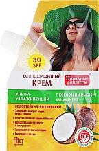 Düfte, Parfümerie und Kosmetik Sonnenschutzcreme für Gesicht und Körper mit Kokosöl SPF 30 - Fito Kosmetik Volksrezepte