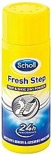 Düfte, Parfümerie und Kosmetik 2in1 Fuß- und Schuhpuder - Scholl Fresh Step Foot & Shoe 2in1Powder