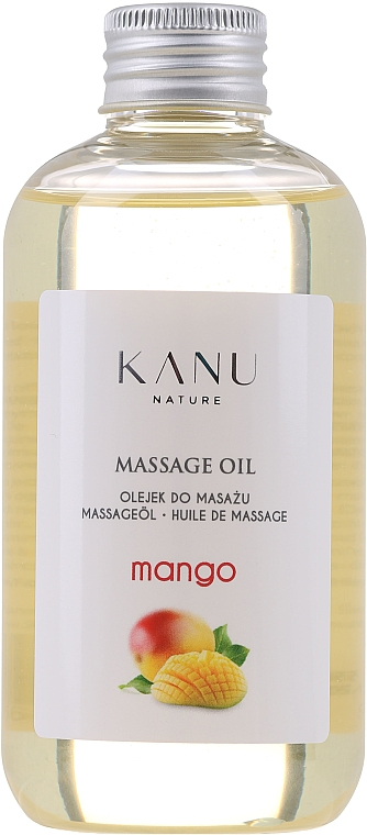 Olejek do masażu Mango - Kanu Nature Mango Massage Oil
