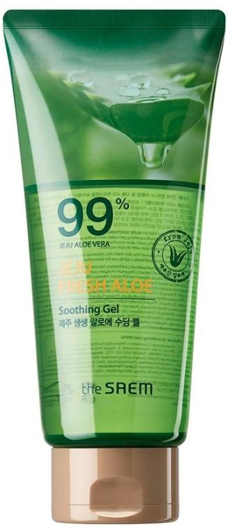 Beruhigendes Körpergel mit Aloe Vera - The Saem Jeju Fresh Aloe Soothing Gel 99%