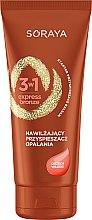 Düfte, Parfümerie und Kosmetik Bräunungs-Aktivator mit Nussöl - Soraya 3w1 Express Bronze Walnut Tan Activator