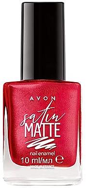 Matter Nagellack - Avon Satin Matte Nail Enamel