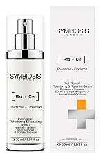 Düfte, Parfümerie und Kosmetik Regenerierendes und texturierendes Gesichtsserum gegen Aknenarben mit Rhamnose und Zimt - Symbiosis London Post-Blemish Retexturing & Repairing Serum