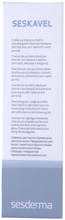Shampoo für den täglichen Gebrauch für alle Haartypen - SesDerma Laboratories Seskavel Frequent Use Shampoo — Bild N2