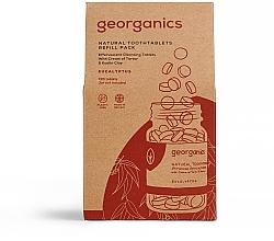 Düfte, Parfümerie und Kosmetik Zahnputztabletten mit Eukalyptus - Georganics Natural Toothtablets Eucalyptus (Refill)