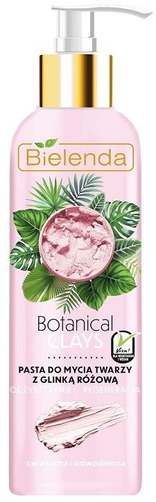 Regenerierende Gesichtsreinigungspaste mit rosa Ton - Bielenda Botanical Clays Vegan Face Wash Paste Pink Clay