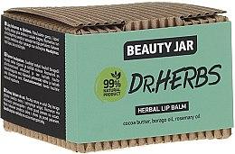 Düfte, Parfümerie und Kosmetik Lippenbalsam mit Kokosbutter, Borago- und Rosmarinöl - Beauty Jar Dr.Herbs Herbal Lip Balm