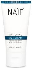 Düfte, Parfümerie und Kosmetik Pflegende Nachtcreme für das Gesicht mit Mandelöl - Naif Natural Skincare Nurturing Night Cream