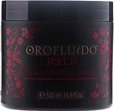 Düfte, Parfümerie und Kosmetik Haarmaske für weiches Haar - Orofluido Asia Zen Control Mask