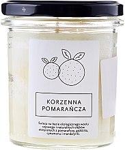 Düfte, Parfümerie und Kosmetik Soja Duftkerze Spicy Orange - Hagi Spicy Orange Candle