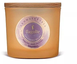 Düfte, Parfümerie und Kosmetik Duftkerze im Glas Lavendel - Flagolie Fragranced Candle Lavender Relax