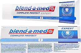 Düfte, Parfümerie und Kosmetik Zahnpasta - Blend-a-med Complete Protect Expert Professional Protection Toothpaste