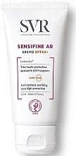 Düfte, Parfümerie und Kosmetik Beruhigende Sonnenschutzcreme für das Gesicht gegen Rötungen SPF 50+ - SVR Sensifine AR Anti-redness Soothing Cream SPF 50+