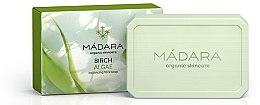 Düfte, Parfümerie und Kosmetik Balancierende Gesichtsseife mit Birke und Algen - Madara Cosmetics Birch & Algae Soap