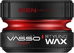 Düfte, Parfümerie und Kosmetik Stylingwachs mit starkem, langanhaltendem Halt und Glanz - Vasso Professional Hair Styling Wax Resist